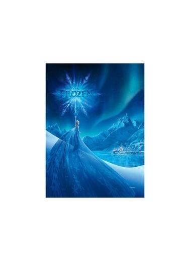 Disney Frozen-1 50x70 cm Kanvas Tablo Renkli